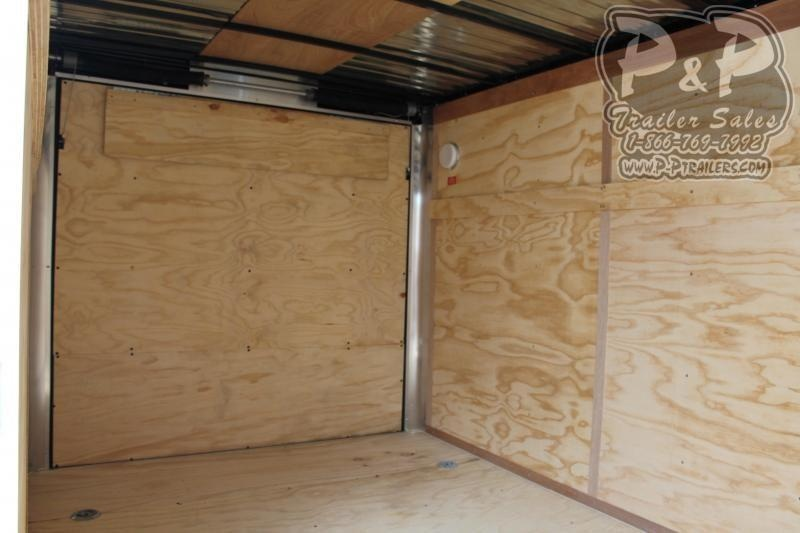 2019 Carry-On 7X14CGRBN7K 14' Enclosed Cargo Trailer