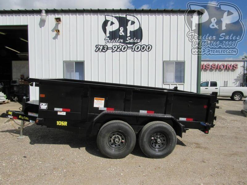 2020 Big Tex Trailers 10SR-12XLBK7S 12 ft Dump Trailer