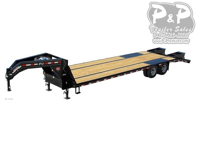 2020 PJ Trailers Low-Pro Flatdeck with Duals (LD) 44 ft Flatbed Trailer