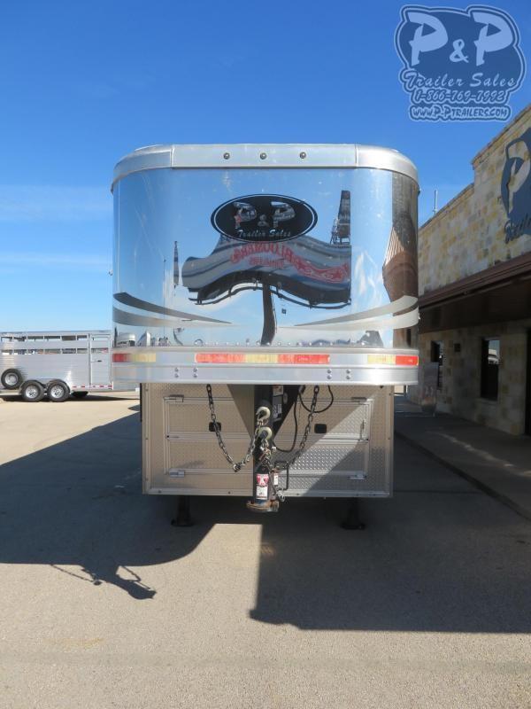 2016 Lakota Big Horn BH8416 4 Horse Slant Load Trailer 16 FT LQ With Slides w/ Ramps