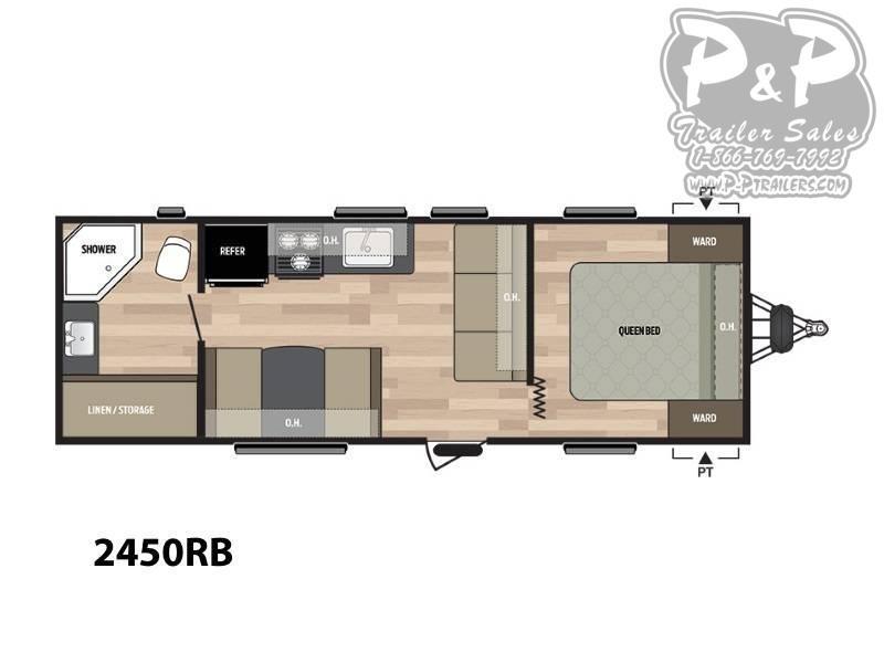 2019 Keystone Springdale 2450RB 27.92 ft Travel Trailer RV