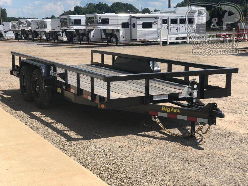 2020 Big Tex Trailers 14PI-18BK 18 ft Utility Trailer