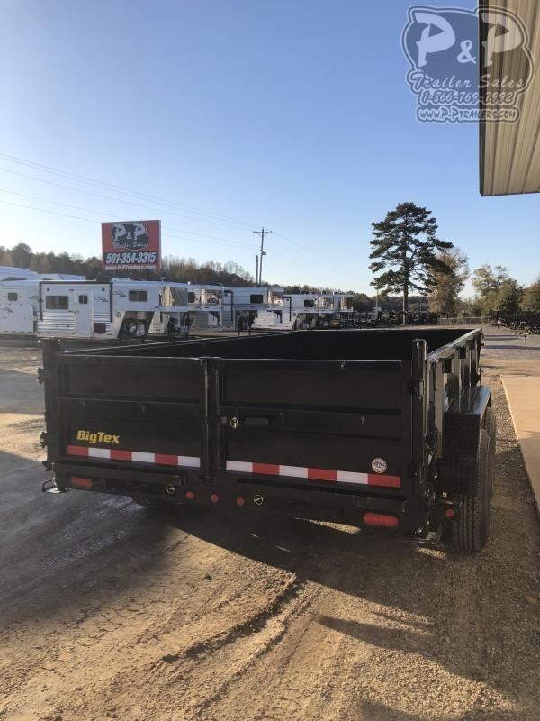 2020 Big Tex Trailers 14LP-14BK6SIRPD 14 ft Dump Trailer