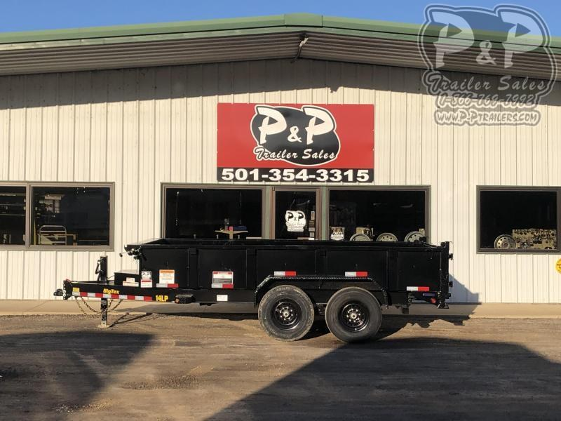 2020 Big Tex Trailers 14LP-14BK6SIRPD 14 ft Dump Trailer