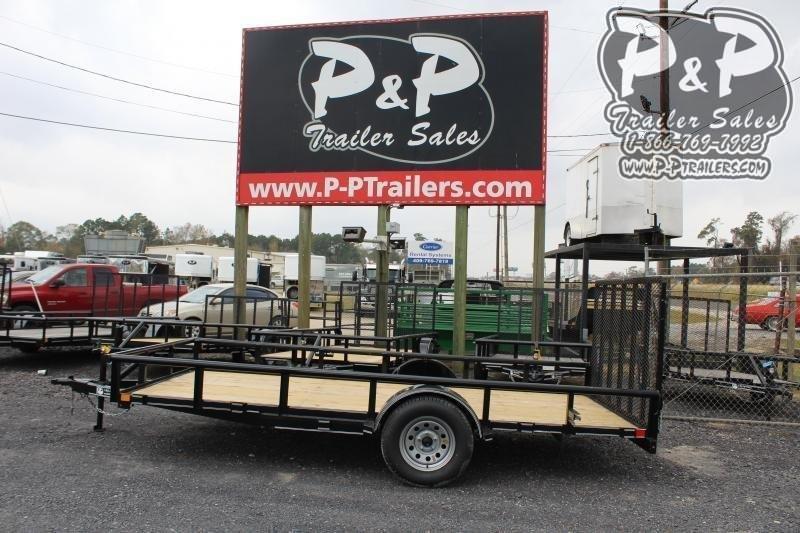2020 P and P PPSA14X77LDRGPT 14 ft Utility Trailer