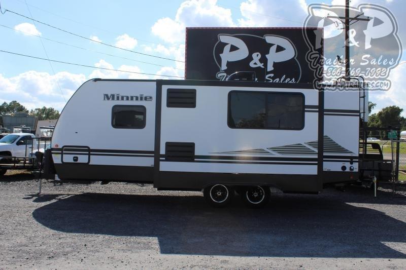 """2020 Winnebago Minnie 2301BHS 29' 10"""" ft Travel Trailer RV"""