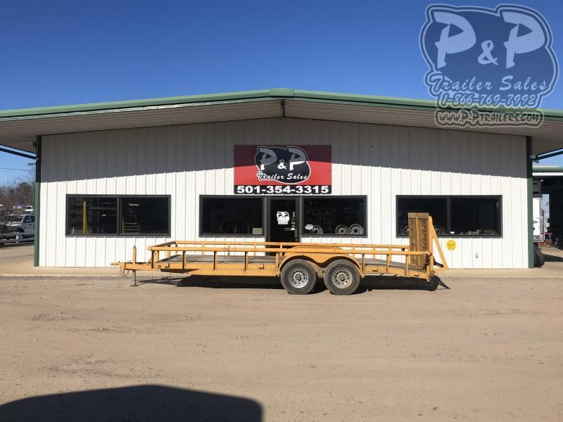 2010 Other 14PI-20 20 ft Utility Trailer