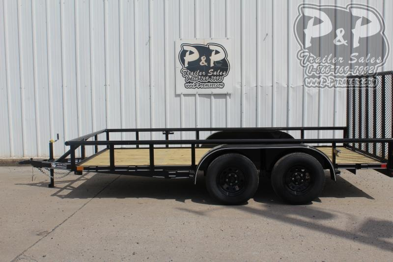 """2020 P and P PPTA14X83LDRGPT *** 83"""" x 14' *** Utility Trailer"""