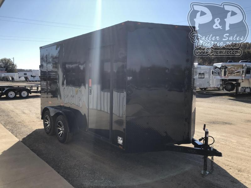 2020 Cynergy Cargo 7X14TA 14 ft Enclosed Cargo Trailer