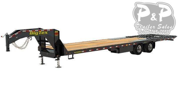 2020 Big Tex Trailers 25GN-35-HDTS Flatbed Trailer