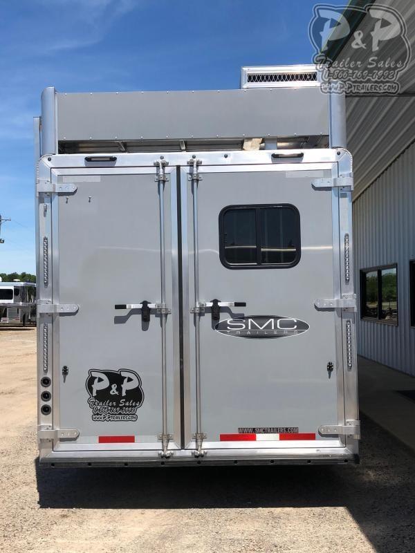 2020 SMC Horse Trailers SL8313SSR 3 Horse Trailer 13 LQ With Slides Slant
