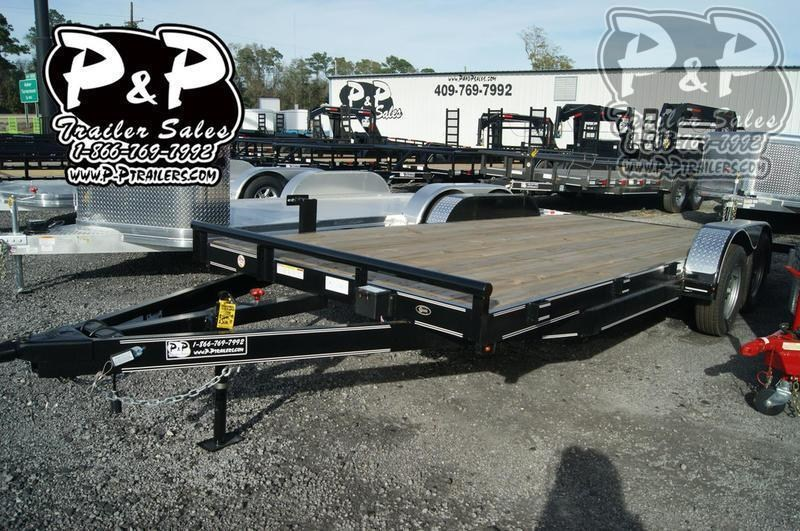 2019 P and P 83 X 18 WFCH 18' Car / Racing Trailer