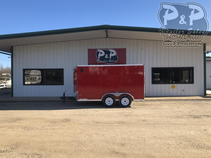 2020 RC Trailers 6X12TA2FTW 12 ft Enclosed Cargo Trailer