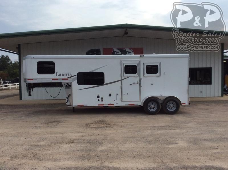 2020 Lakota Colt AC27 2 Horse Slant Load Trailer 7 FT LQ