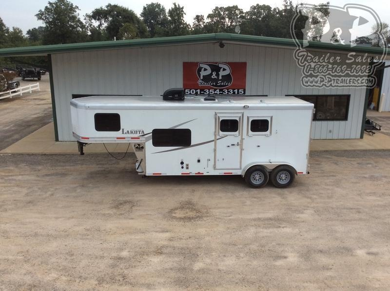 2020 Lakota Colt AC27 2 Horse Slant Load Trailer 7 FT LQ