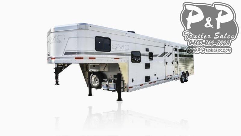 2020 SMC Horse Trailers SL8X9SR LARAMIE 9FT LQ Livestock Trailer LQ