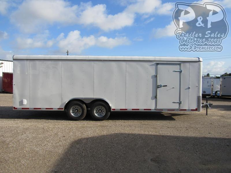 2020 Carry-On 8.5 X 24' CGR 24 ft Enclosed Cargo Trailer