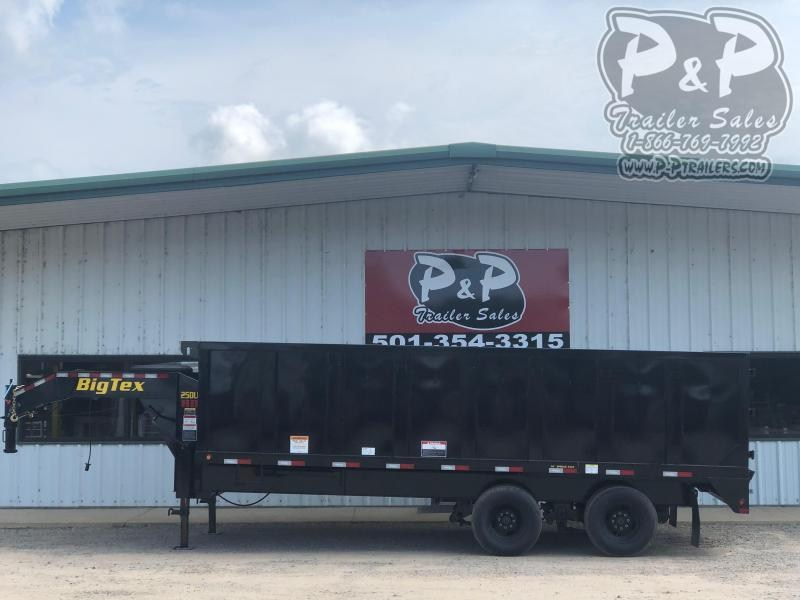 2020 Big Tex Trailers 25DU 20BK8SIR 20 ft Dump Trailer
