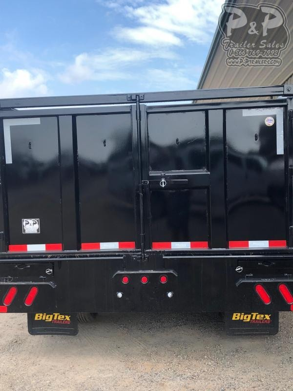 2020 Big Tex Trailers 25DU 20BK8SIR 20 ft Dump Trailer