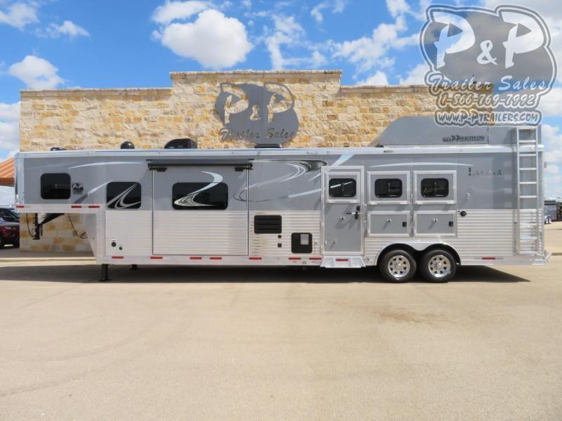 2020 Lakota BH8316SRBRSL 3 Horse Slant Load Trailer 16 FT LQ With Slides w/ Ramps