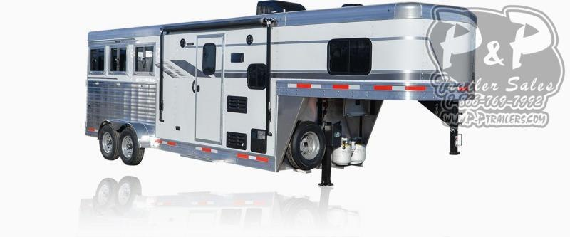 2020 SMC Horse Trailers SLX6FK LARAMIE 3 Horse Slant Load Trailer 6 FT LQ