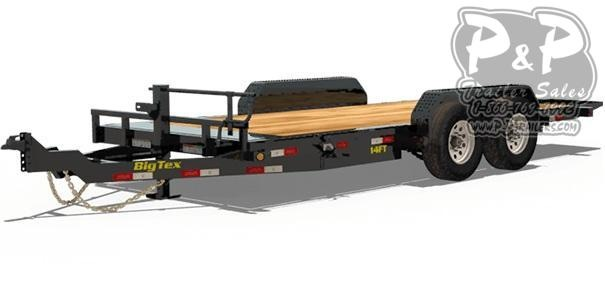 2019 Big Tex Trailers 14FT-18 Tilt Equipment Trailer