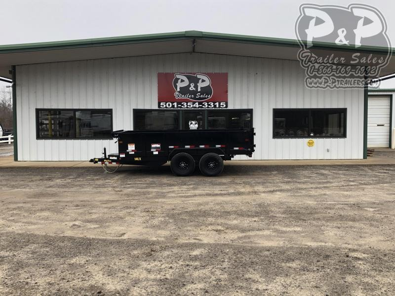 2020 Big Tex Trailers 14LX-14BK7SIRPD 14 ft Dump Trailer