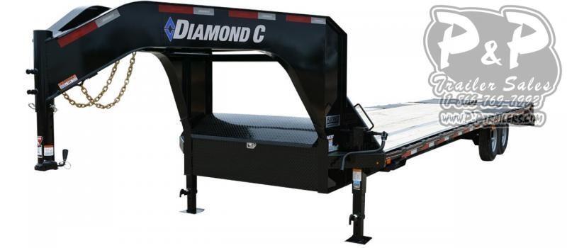 2020 Diamond C Trailers FMAX207 Gooseneck Equipment Trailer