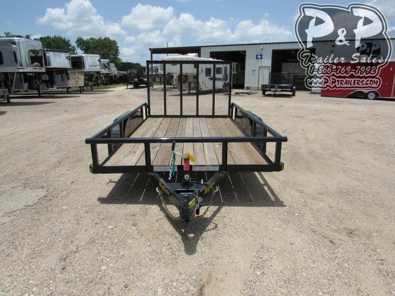 2020 Big Tex Trailers 60PI-12BK4RG 12 ft Utility Trailer