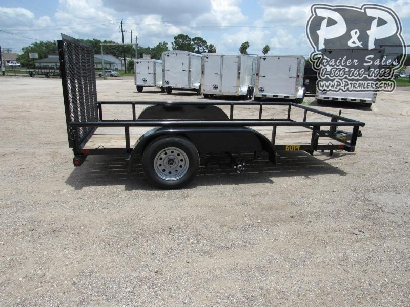 2020 Big Tex Trailers 60PI-12BK4RG 12 ft Utility Trailer