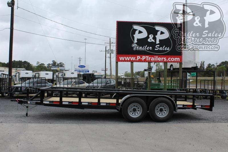 2020 P and P PPTA18X83MDSRPT 18 ft Utility Trailer