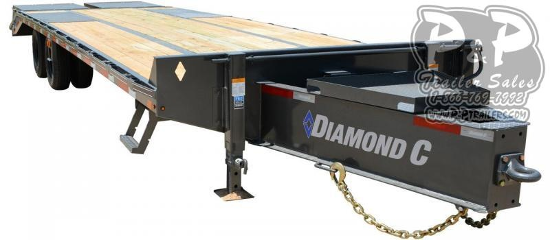 2020 Diamond C Trailers PX212 Pintle Hitch Equipment Trailer