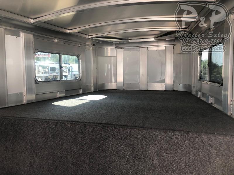 2020 Platinum Coach 7X22GNTR 22 ft Livestock Trailer