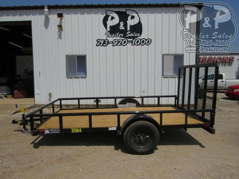 2020 Big Tex Trailers 77X12 12 ft Utility Trailer LQ