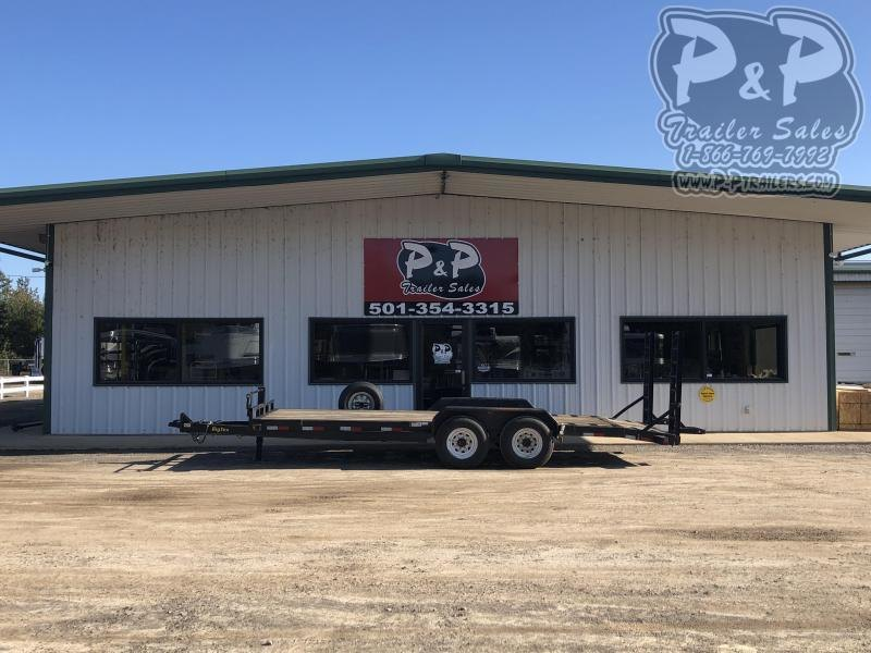 2014 Big Tex Trailers 14ET-20BK 20 ft Equipment Trailer
