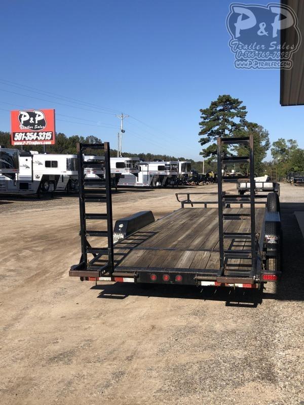 2014 Big Tex Trailers 14ET-20BK 20 ft Equipment Trailer