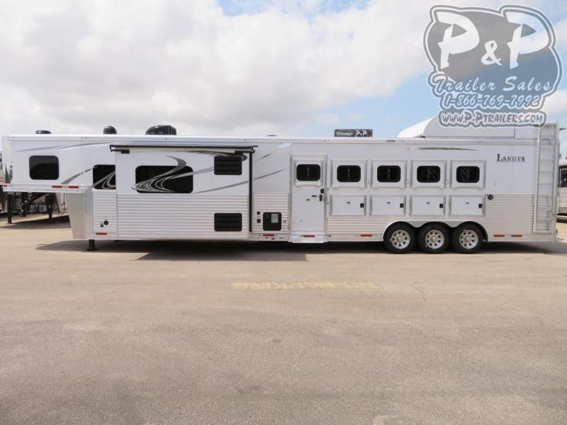 2020 Lakota BH8516TSR 5 Horse Trailer 16 LQ With Slides Slant