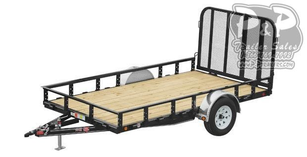 2020 PJ Trailers 77 in. Single Axle Channel Utility Utility Trailer