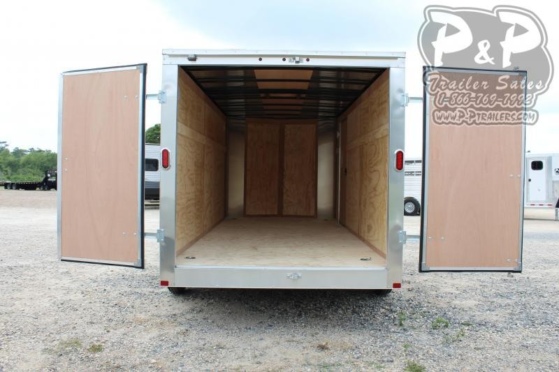 2020 Carry-On 7x16CGBN7K 16 ft Enclosed Cargo Trailer