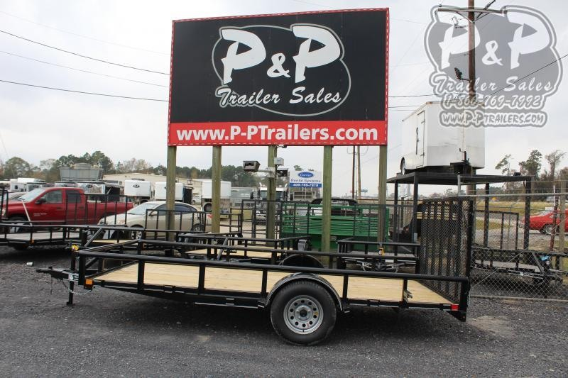 2020 P and P PPSA14X77LDRGPT 14 ft Utility Trailer