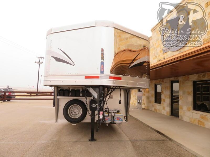 "2019 Lakota Trailers Charger 3 Horse 13'6"" Short Wall"