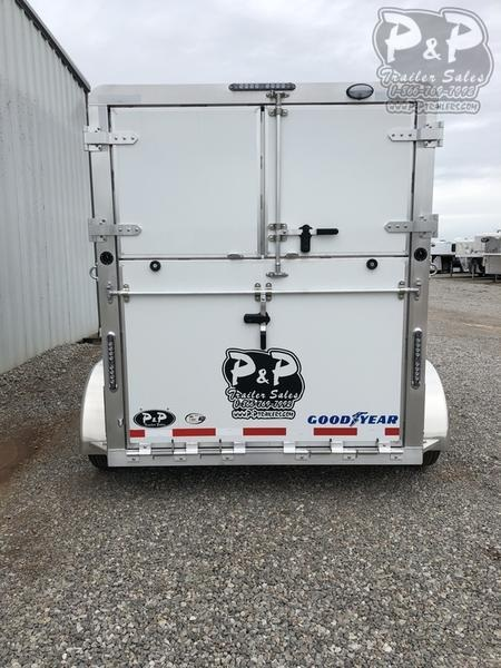 2020 P and P B.P. 2 Horse Straight Load Trailer w/ Ramps