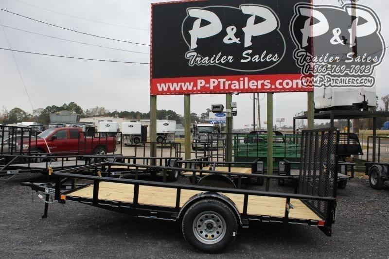 2020 P and P PPSA12X77LDRGPT 12 ft Utility Trailer