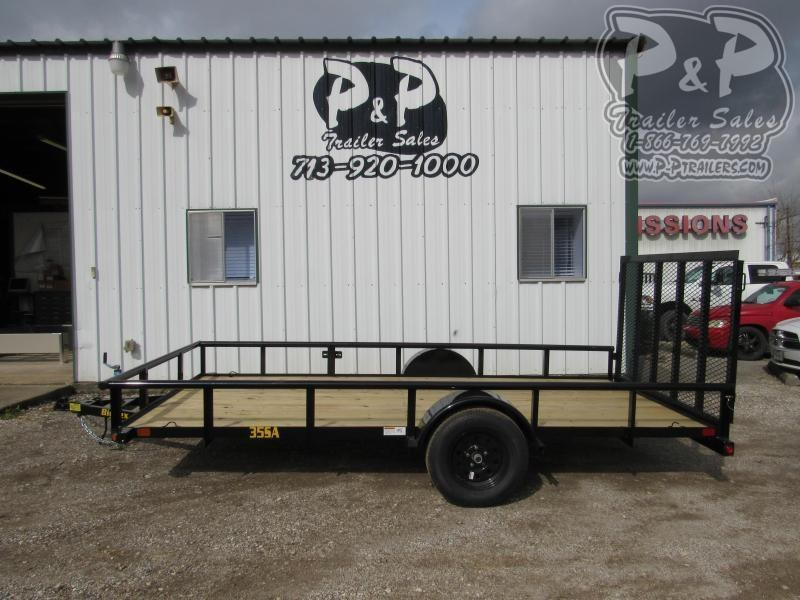 2020 Big Tex Trailers 77X14 SAPT 14 ft Utility Trailer