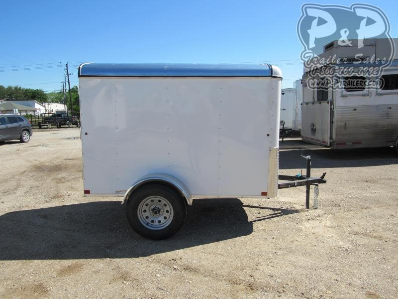 2019 Carry-On 5 x 8 CGR 8 ft Enclosed Cargo Trailer