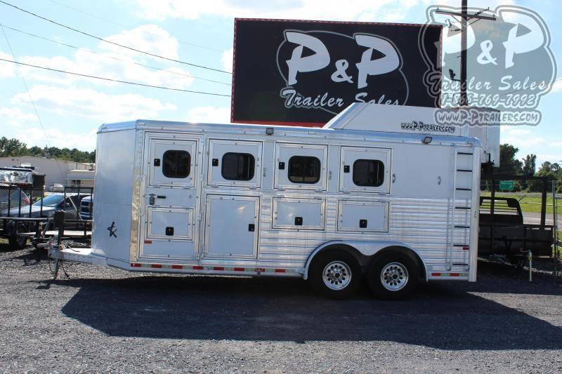 2008 Hart Trailers 4HBP 4 Horse Slant Load Trailer