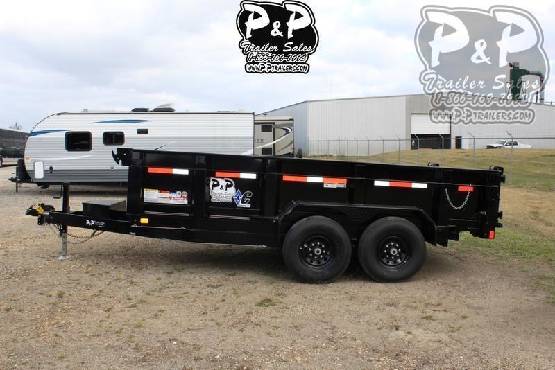2019 Diamond C Trailers 21WD 14' x 82 14 ft Dump Trailer