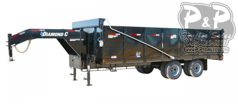 2020 Diamond C Trailers WDT Dump Trailer