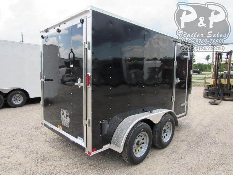 2020 Carry-On 6X12CGRBN7K 12 ft Enclosed Cargo Trailer