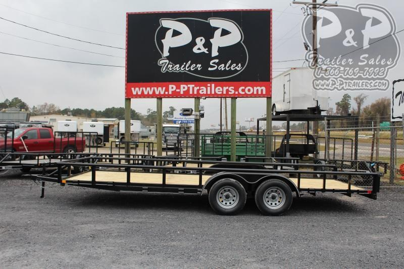 2020 P and P PPTA20X83GDSRPT 20 ft Utility Trailer